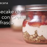 Cheesecake jar.spanish