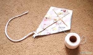 How to make a kite Image