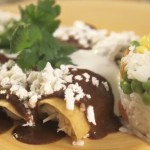 Mole Chicken Enchiladas Recipe