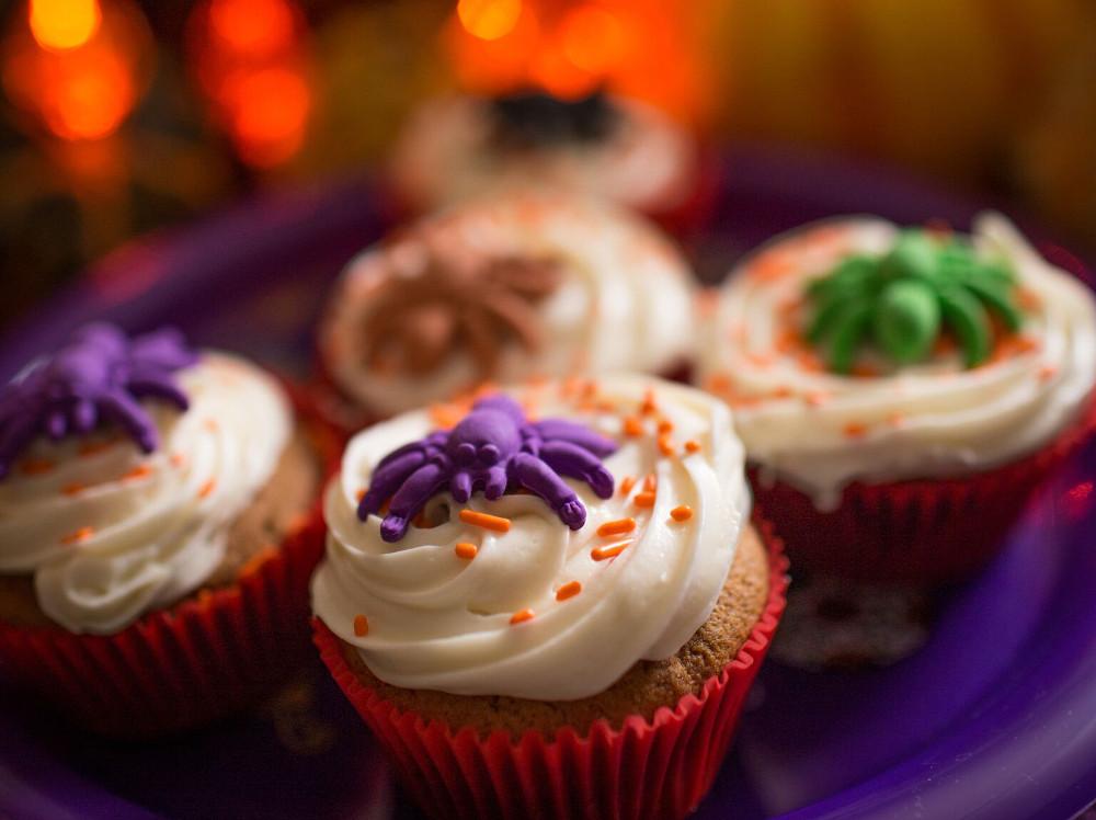 Abuelita Chocolate Cupcakes With Pumpkin