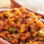 Comidas mexicanas con carne molida