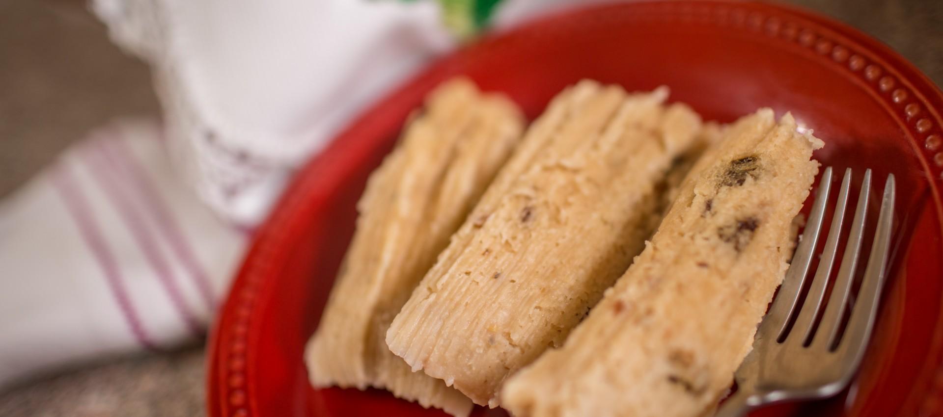 Sweet Peanut Tamales Image