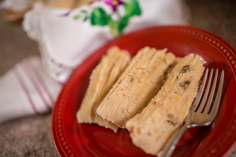 Sweet Peanut Tamales