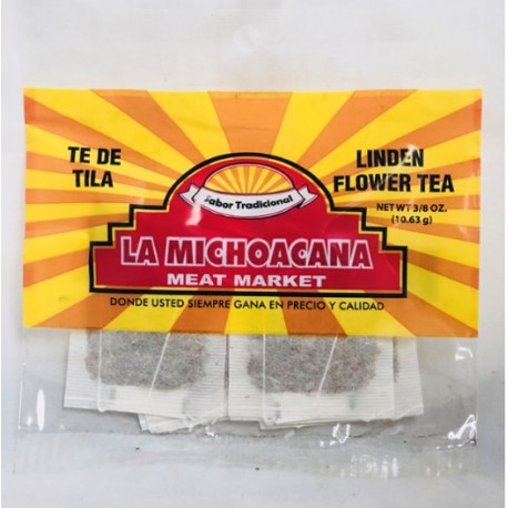 La Michoacana Meat Market – Linden flower tea 3/8 OZ
