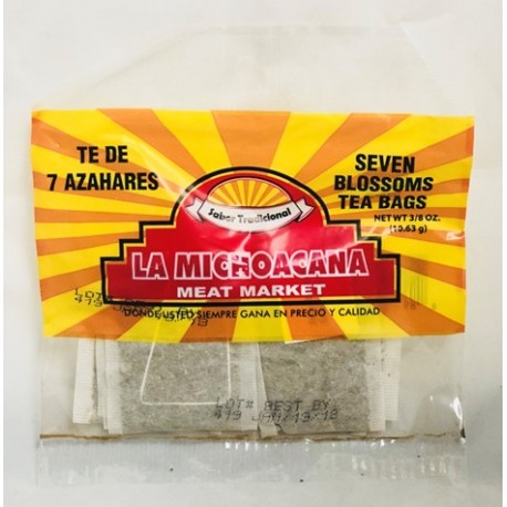 La Michoacana Meat Market – Seven Blossoms Tea 3/8 OZ