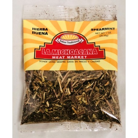 La Michoacana Meat Market – Spearmint 1 OZ