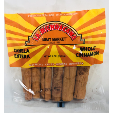 La Michoacana Meat Market – Whole Cinnamon 1 OZ