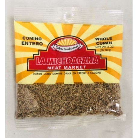 La Michoacana Meat Market – Whole Cumin 2 OZ