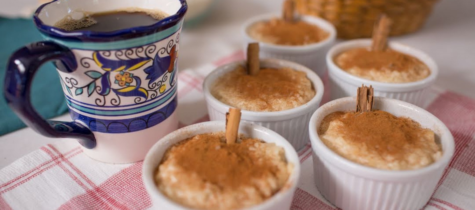 Rice pudding Image