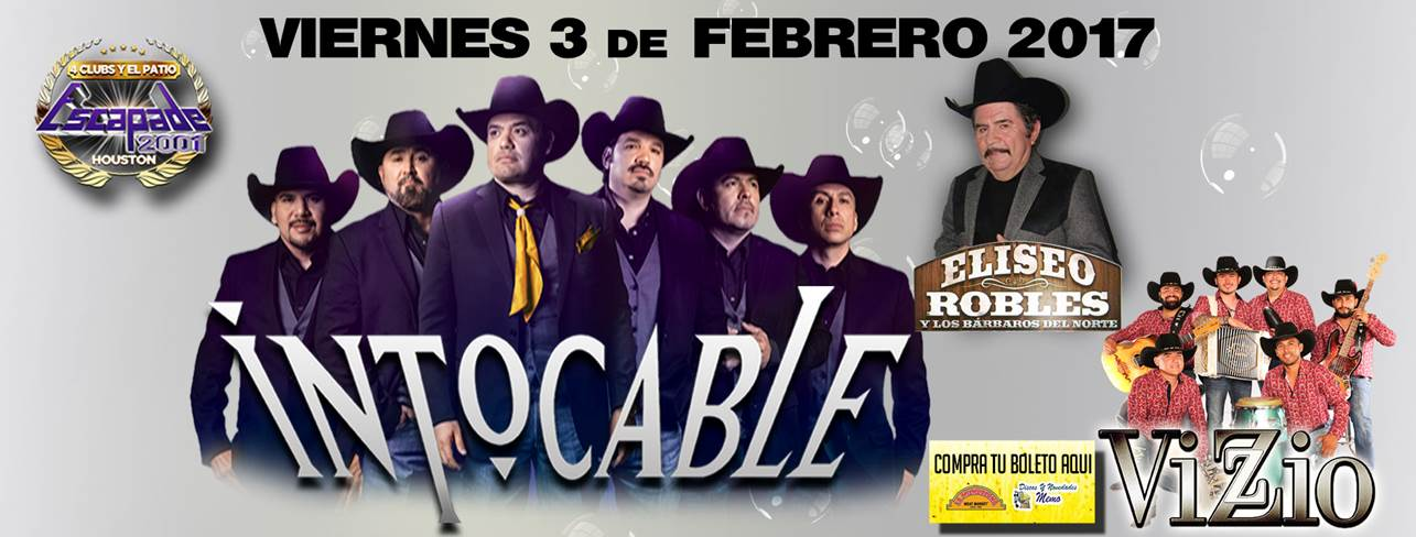 Intocable en Escapade