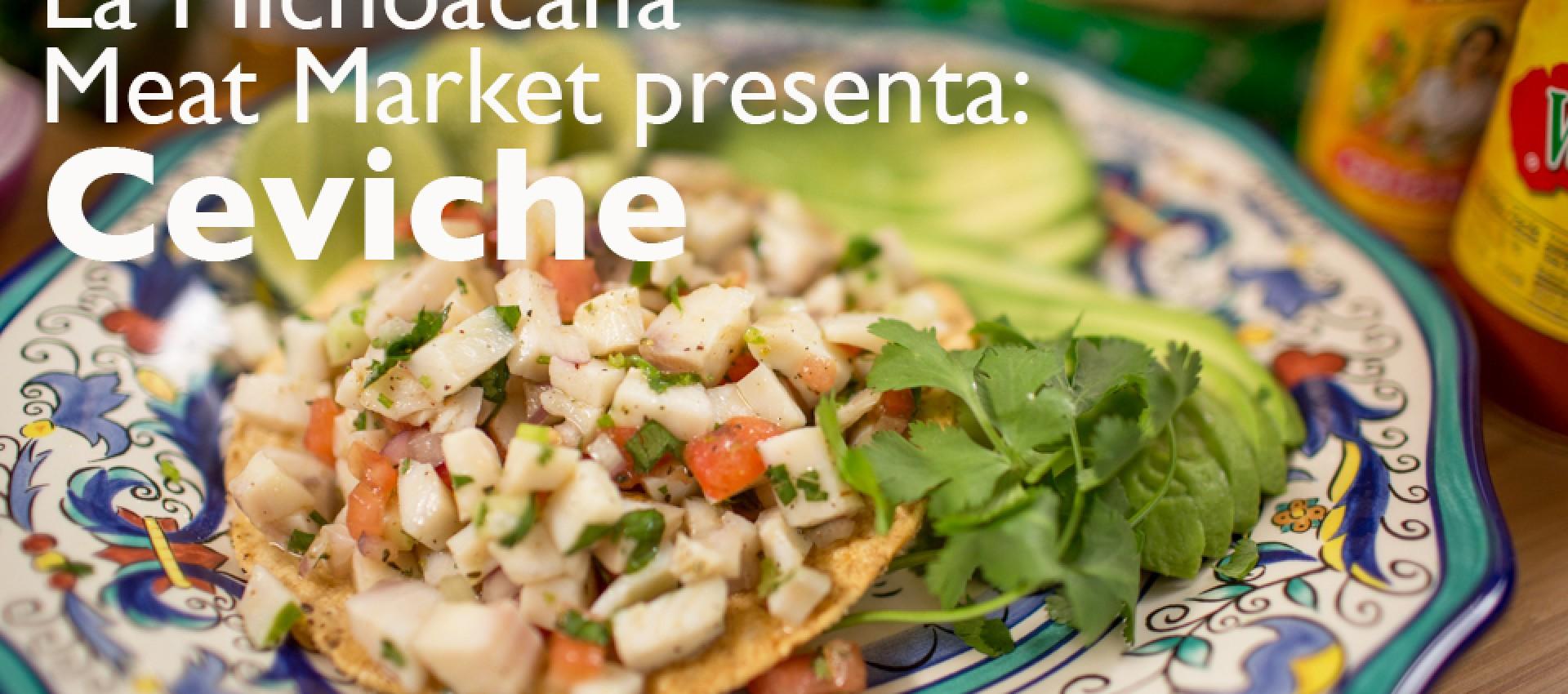 Mexican Fish Ceviche Image