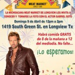 Get a picture with Gabriel Soto