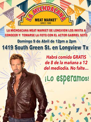 Get a picture with Gabriel Soto, Longview TX