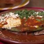 Huarache con Nopal