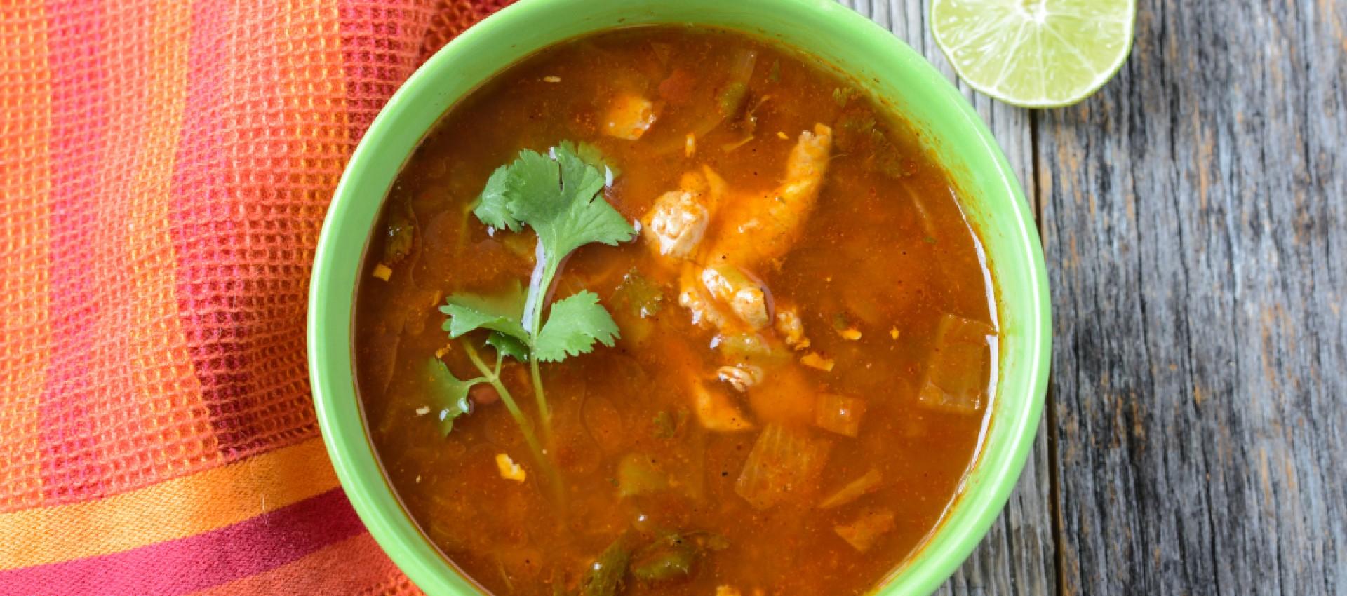 Authentic Tortilla Soup Recipe Image