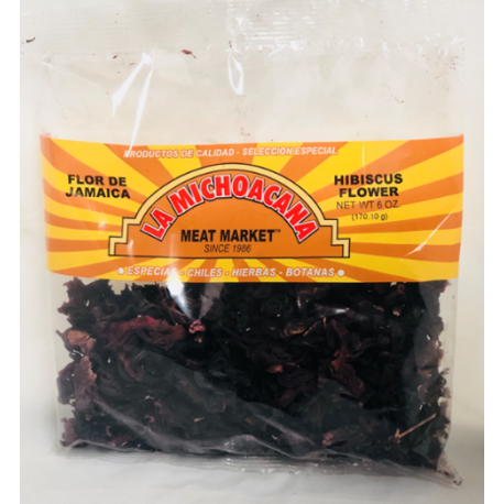 La Michoacana Meat Market – Flor de Jamaica 6 Oz