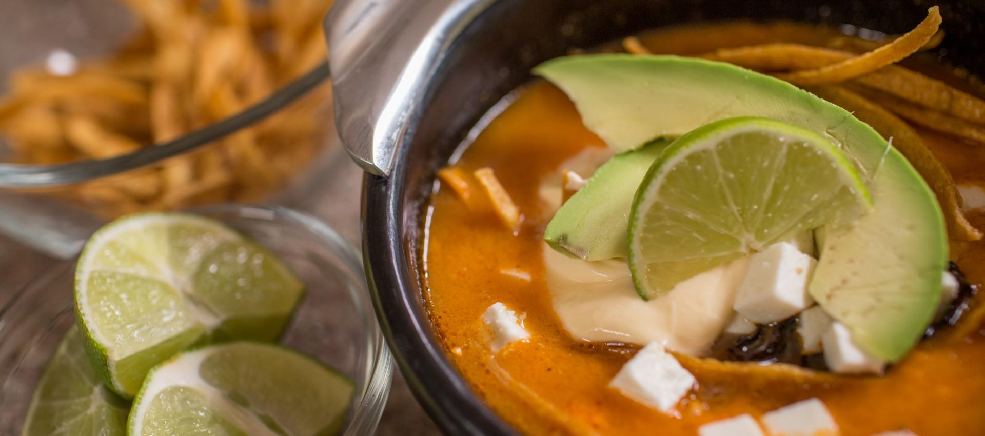 Imagen de Sopa de tortilla